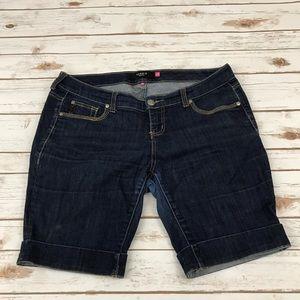 Torrid Jean Bermuda Shorts